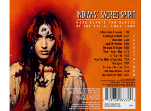 INDIAN'S SACRED SPIRIT - May You Walk in Sunshine (2000)  (Musique du Monde)