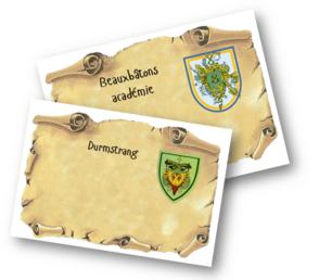 Thème de classe Harry Potter 2014-2015