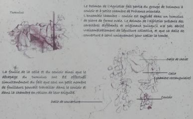 Quelques explications sur le dolmen