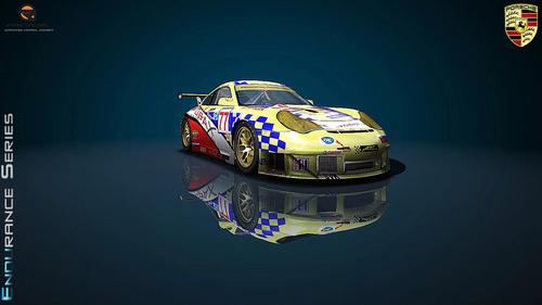 Team ARC Bratislava Porsche 996RSR - ALMS 2008