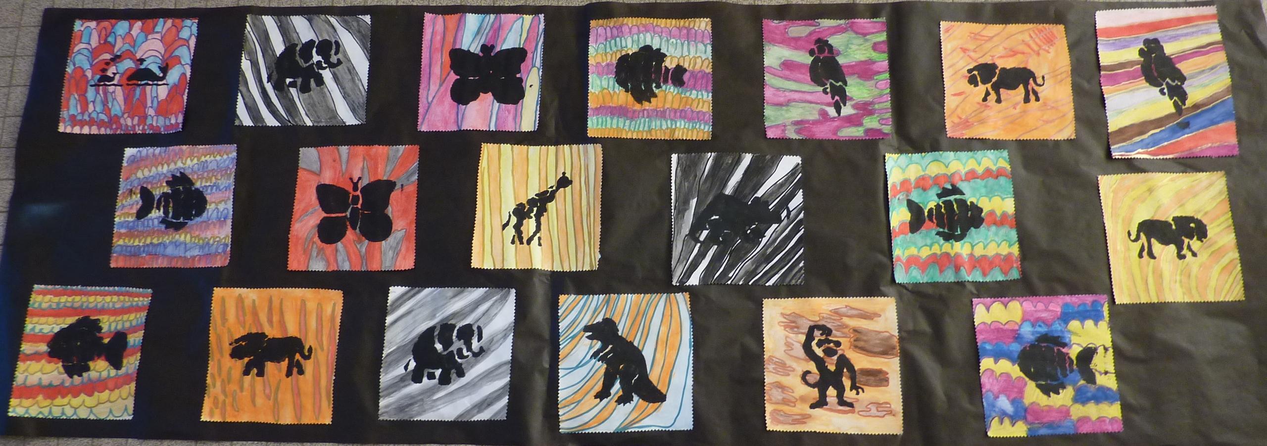 Top Arts visuels Afrique GS, CP et CE1 - Véro à l'école HR63