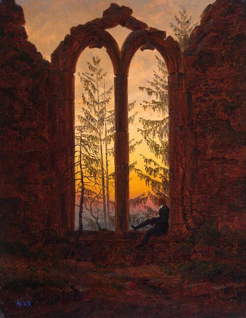 Friedrich, peintre romantique