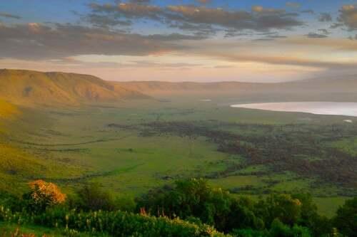 Patrimoine mondial de l'Unesco : La zone de conservation de Ngorongoro - Tanzanie -