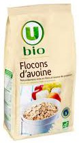 Flocons d'avoine bio super U