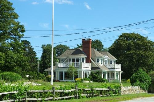 La côte de la Nouvelle Angleterre et le Mayflower