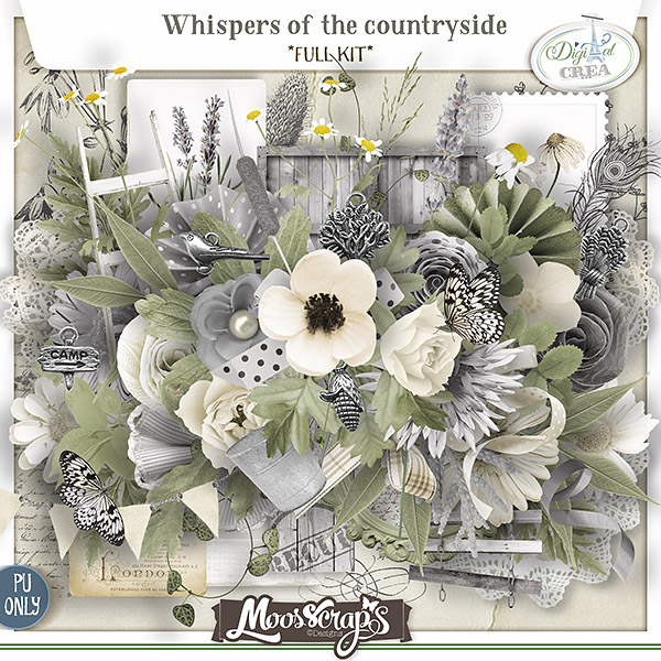 Whispers of the countryside - full kit