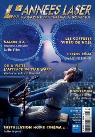 """Les Années Laser N° 267 octobre 2019 """"Magazine"""""""