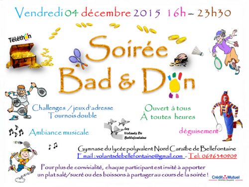 conception d'affiche Bad & Don