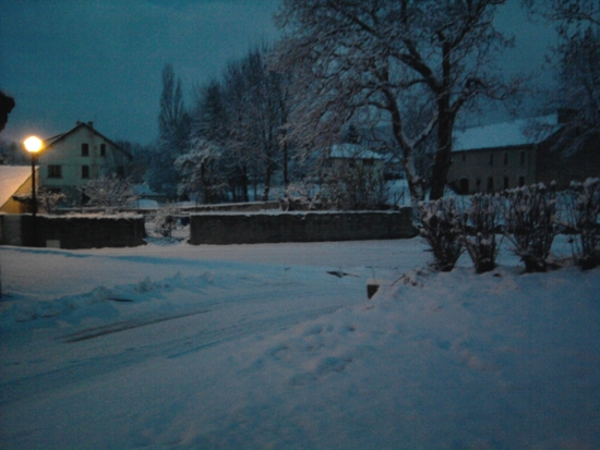 Neige en Lozère - novembre