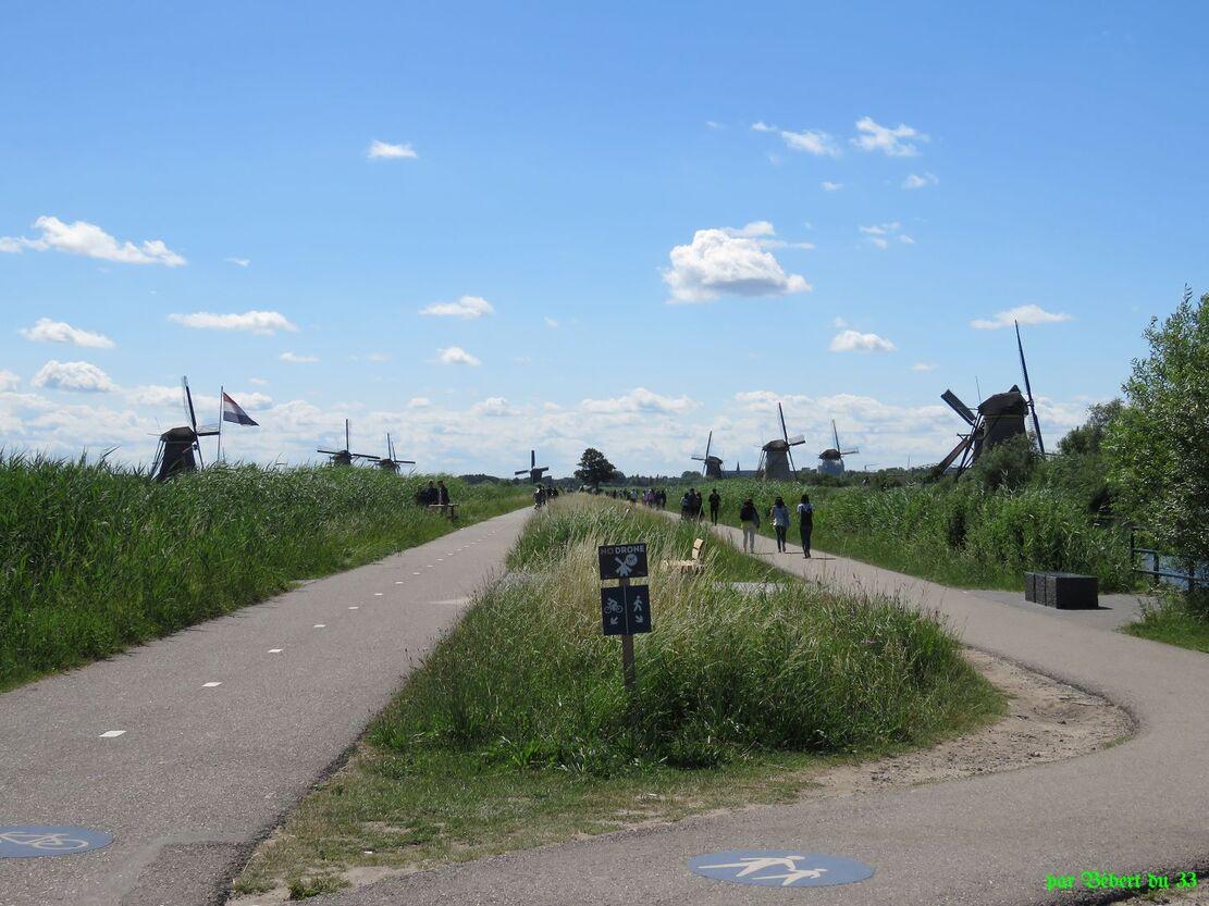 les moulins en Hollande