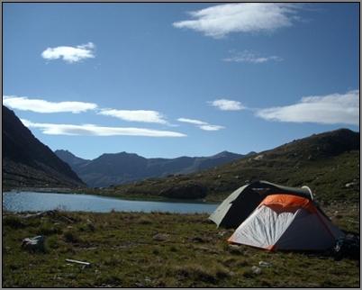 Bivouac au Lac du Loup... (Hte Ubaye, 2005)