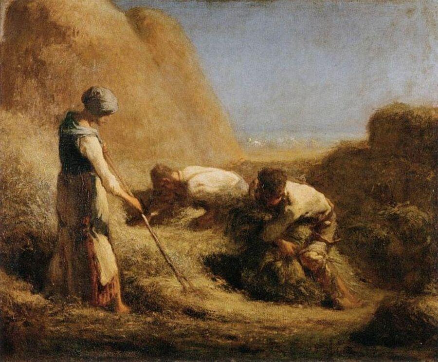 1.Millet ,le travail paysan