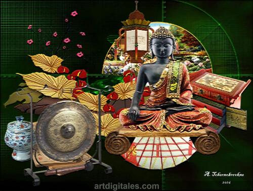 Le gong du bouddha