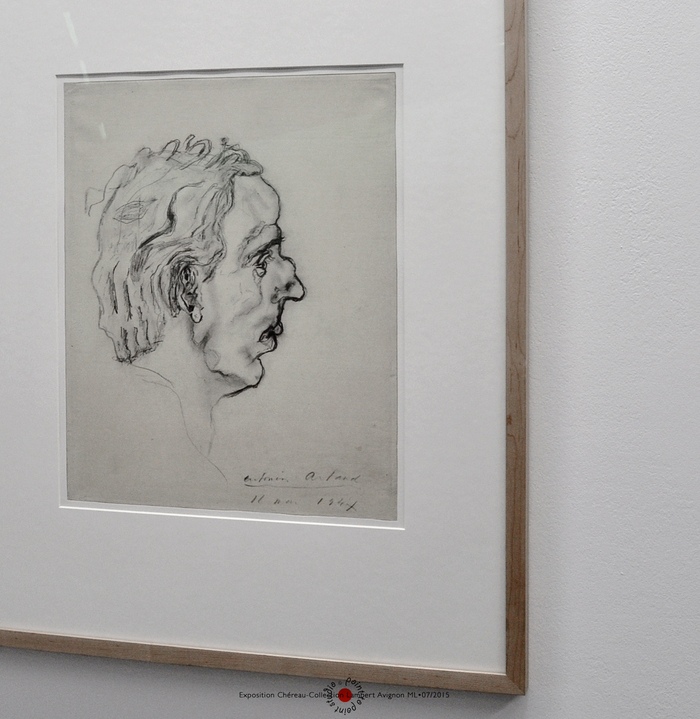 Exposition Patrice Chéreau Antonin Artaud Dessin Collection Lambert Point to Point Studio