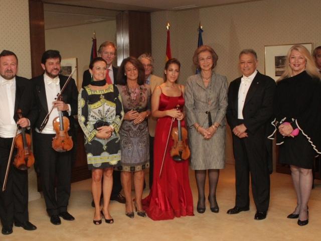 Sofia au concert