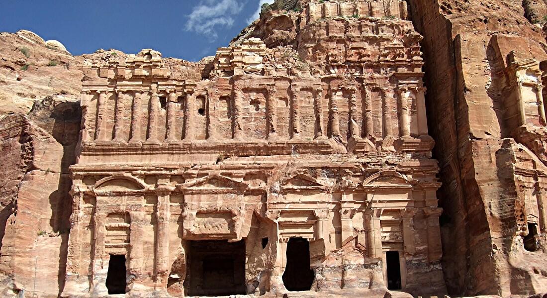 Jordanie 8 / Petra : Tombeaux à 5 étages...