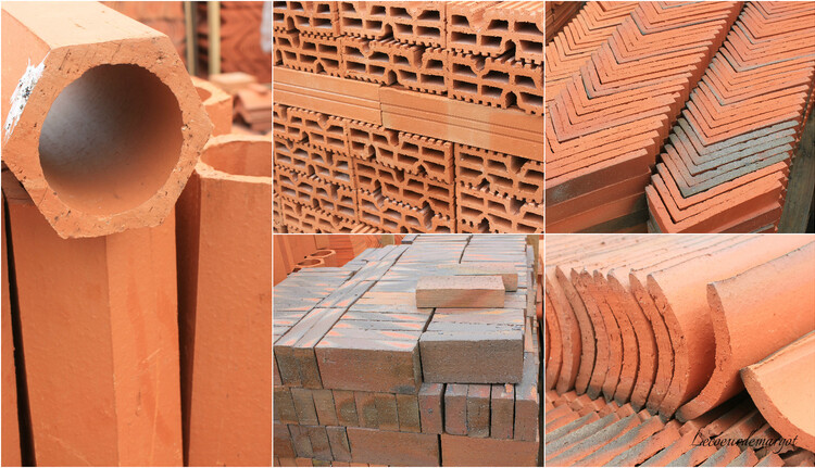 Four / Provenance des briques