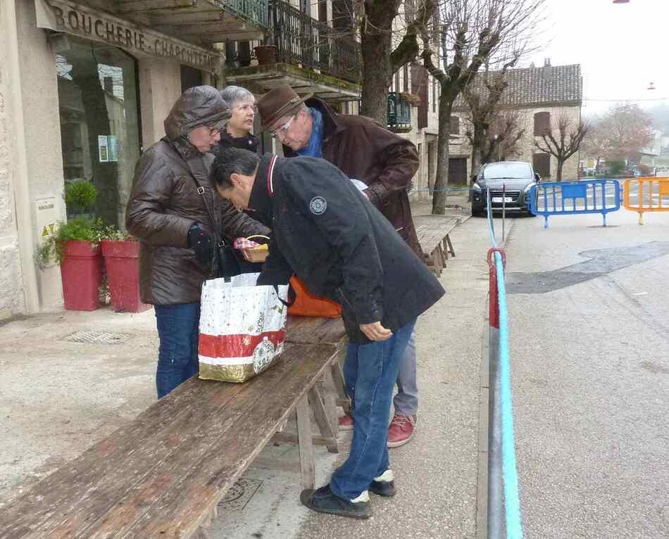 Fête de la truffe de Lalbenque (marché aux truffes).