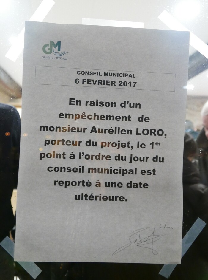 Conseil Municipal: A l'Ordre du jour