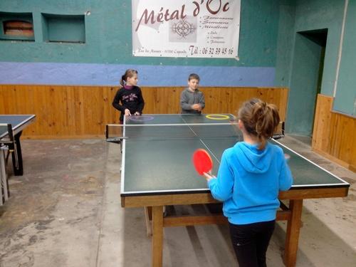 Tennis de table pour les classes de Ce2/Cm1