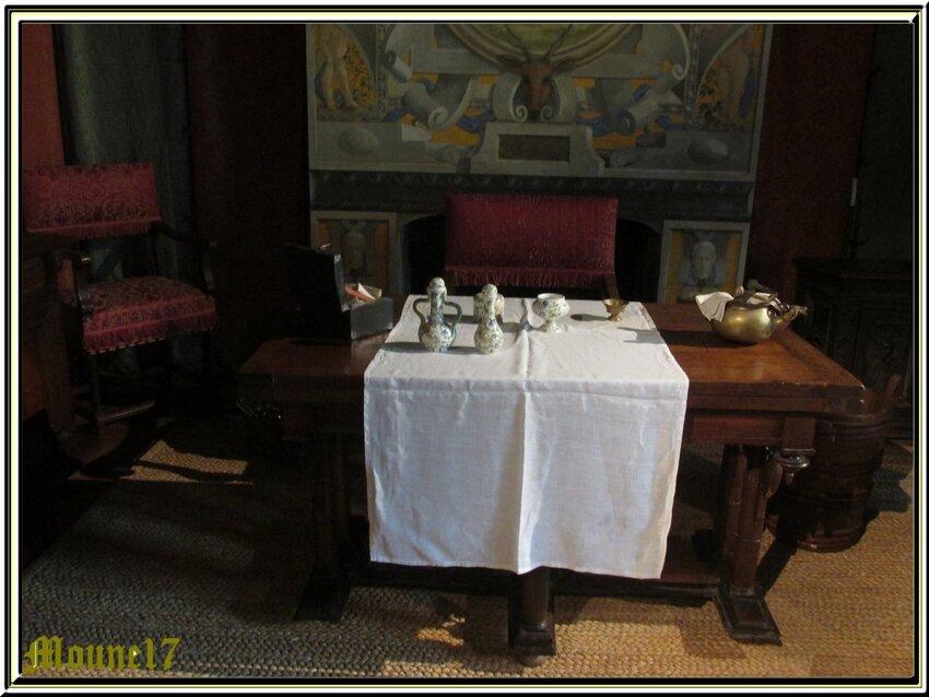 L'intérieur du château de Chamerolles(loiret)