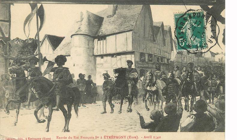 LES REMPARTS D'ETREPAGNY (Eure)