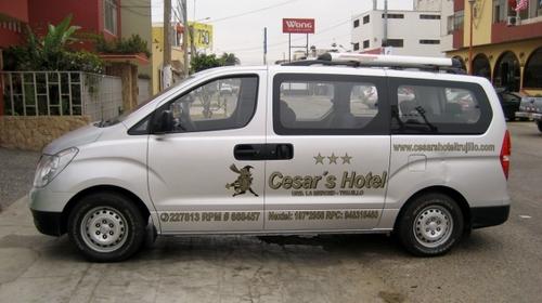 11 places + chauffeur