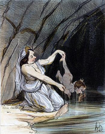 Lithogravure de Daumier