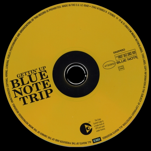 Blue Note Trip Volume 3 Disc 1 Maestro : Goin' Down/Gettin' Up CD Blue Note ‎Records 7243 4 73093 2 8 [ NL ]