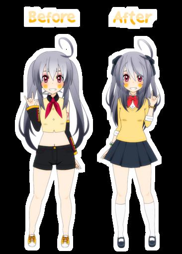 [Kisekae] Crystal's human design remake !