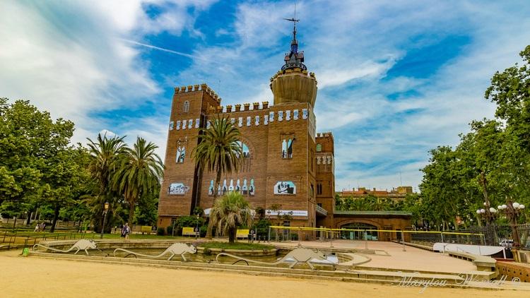 Barcelone : Divers et le parc de la Ciutadella