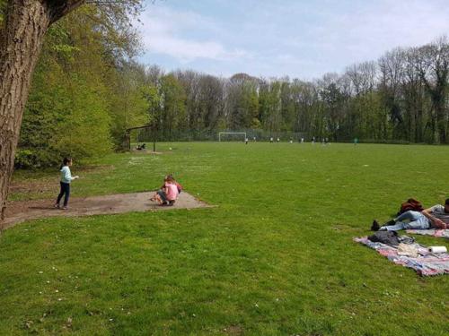 Sortie au parc de la Woluwe