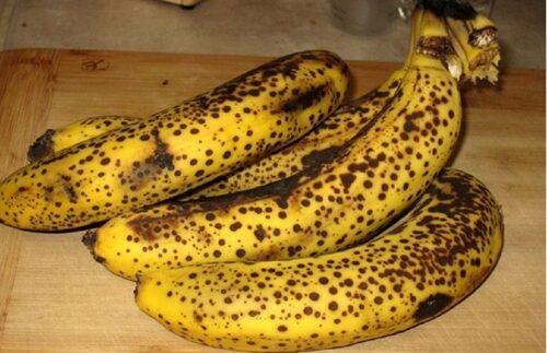 Ce que les bananes bien mûres font à votre corps…