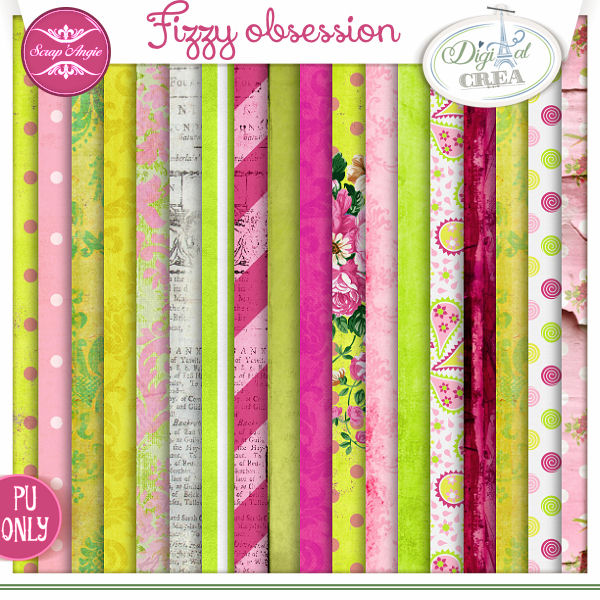 Fizzy Obsession by Scrap'Angie