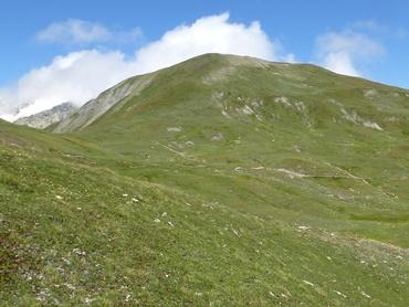 Vue du Grand Col Ferret (2537 m)