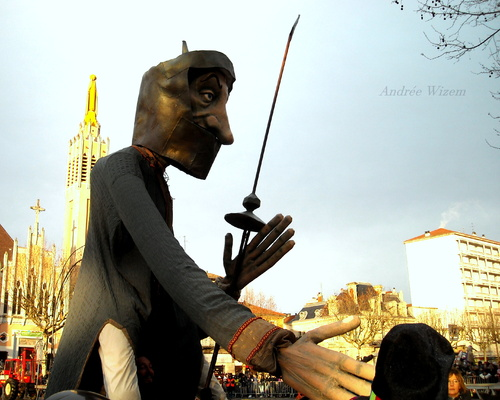 Carnaval de Romans sur Isère 2015...Carmentran même pas mort...6