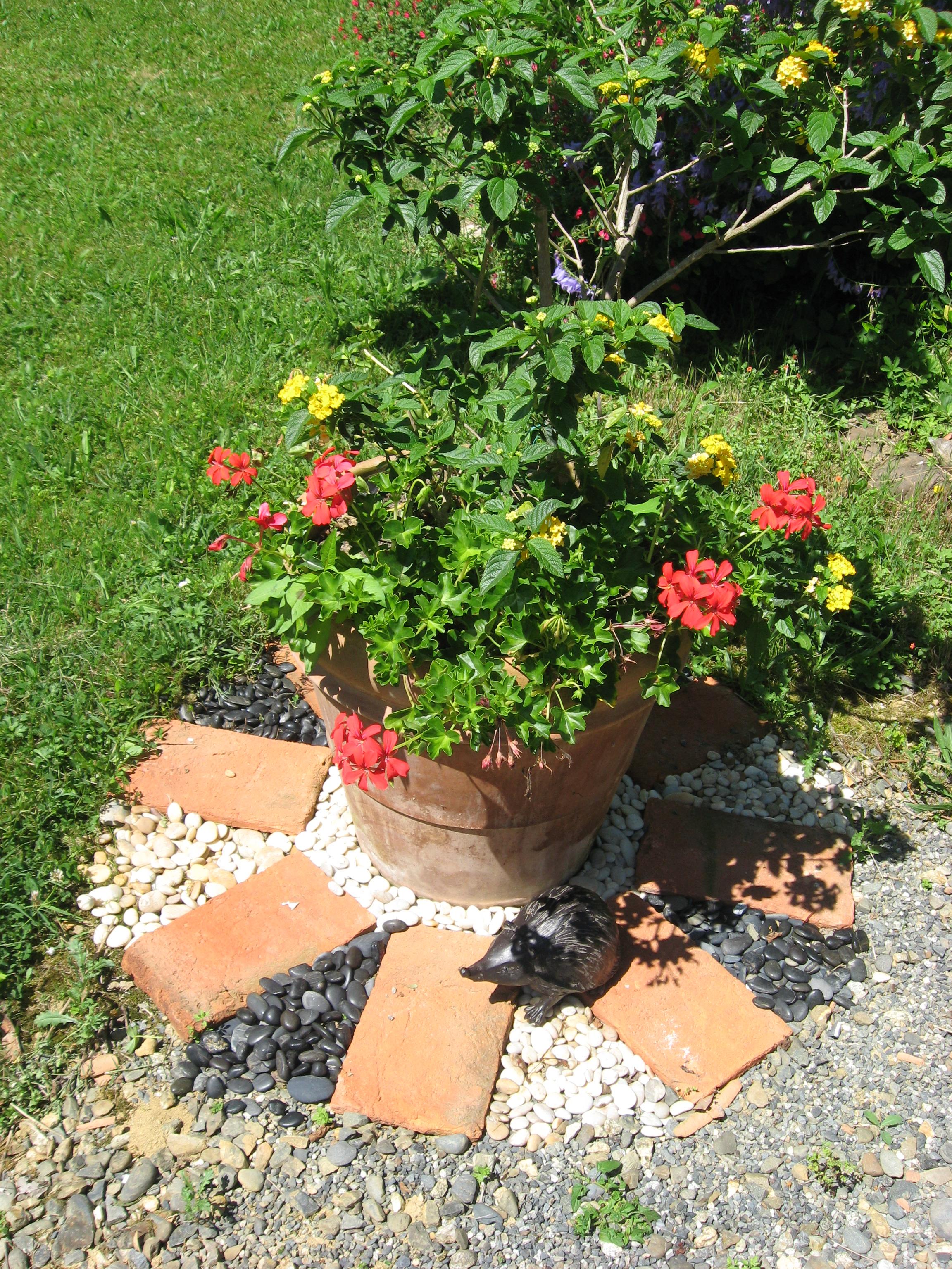 Décors de jardin avec de la récup - Nini-déco