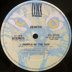 Zenith - People Of The Sun