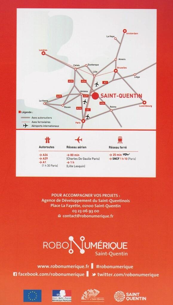 La Robonumérique à Saint-Quentin