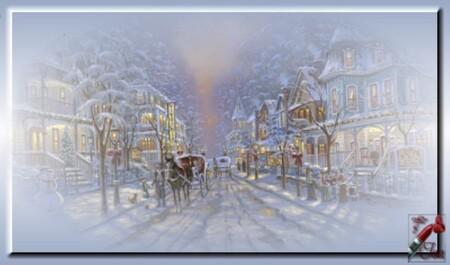 HI0019 - Tube paysage d'hiver