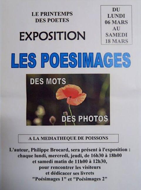 EXPO à POISSONS * 52 * Printemps des poètes
