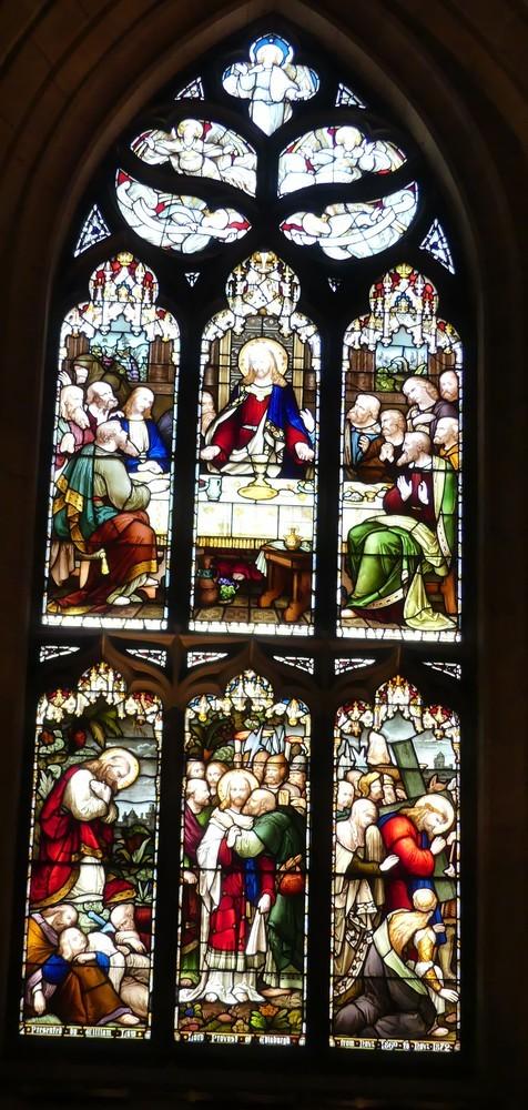 La Cathédrale Saint-Gilles à Edimbourg : les vitraux...