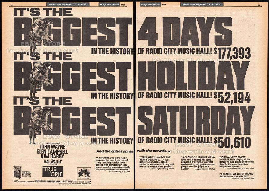 BOX OFFICE USA DU 19 JUIN 1969 AU 25 JUIN 1969