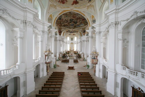 L'abbaye de Neresheim...