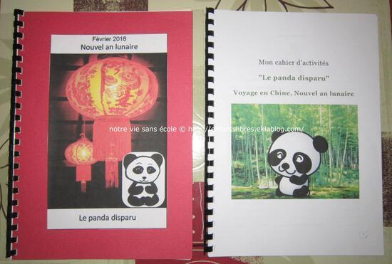 Louna box - le panda perdu