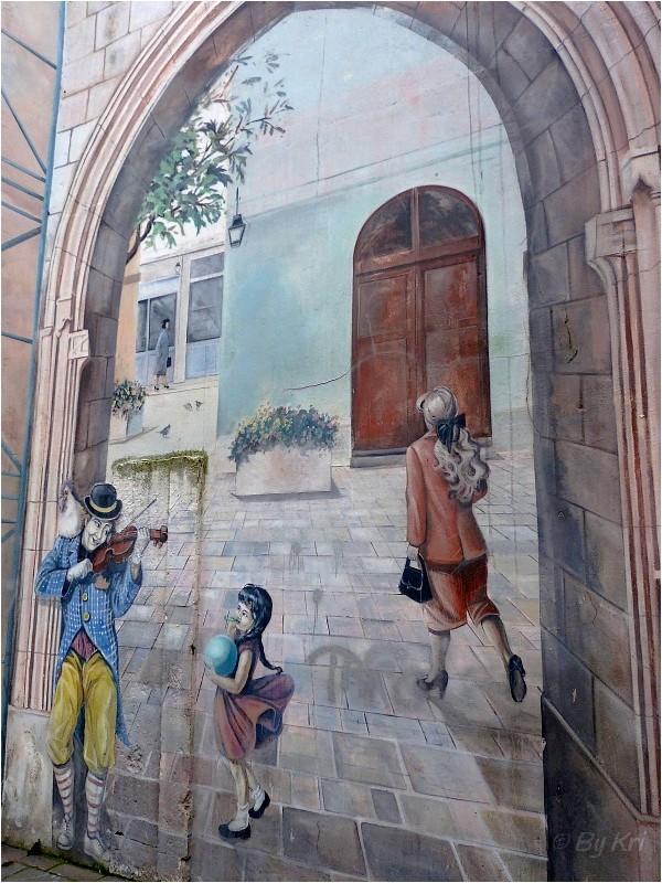 Bourg-en-Bresse (01) ~ Trompe l'oeil ...