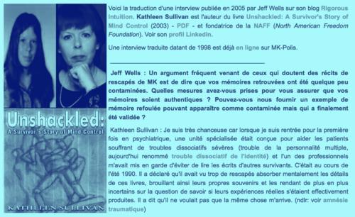 ➤ Extrait d'une interview de la survivante Kathleen Sullivan
