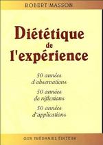 Robert Masson diététique de l'expérience