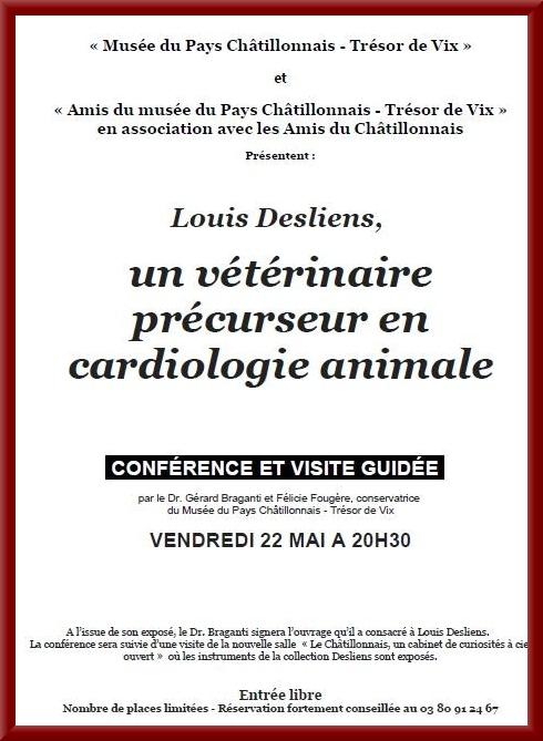 Conférence sur Louis Desliens
