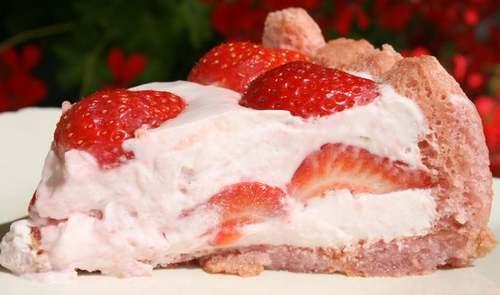 Recette de cuisine : Charlotte aux fraises
